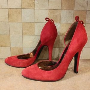 Red Guess by Marciano pumps pre owned